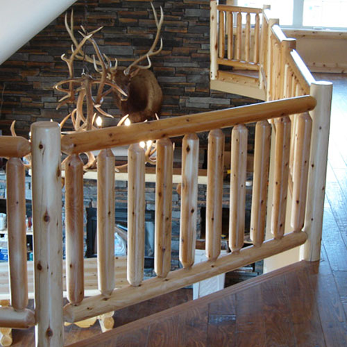 Rocky Top Log Furniture & Railing Blog: Rocky Top Log Railing
