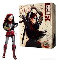 San Diego Comic-Con 2016 Mattel Exclusive DC SUPER HERO GIRLS KATANA ACTION DOLL