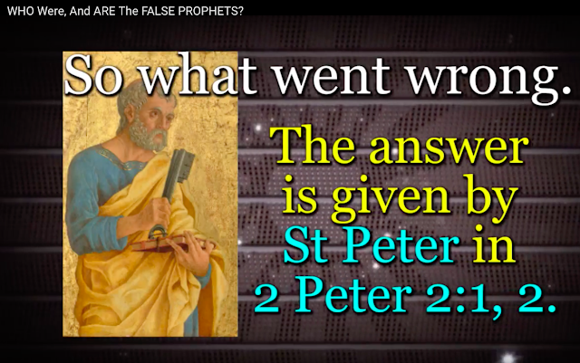 WHY do MOST believe Jesus is GOD? The answer is in 2 Peter 2:1,2.