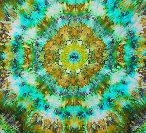 Cursos la Tertulia: Tie Die Mandalas y acolchado artístico