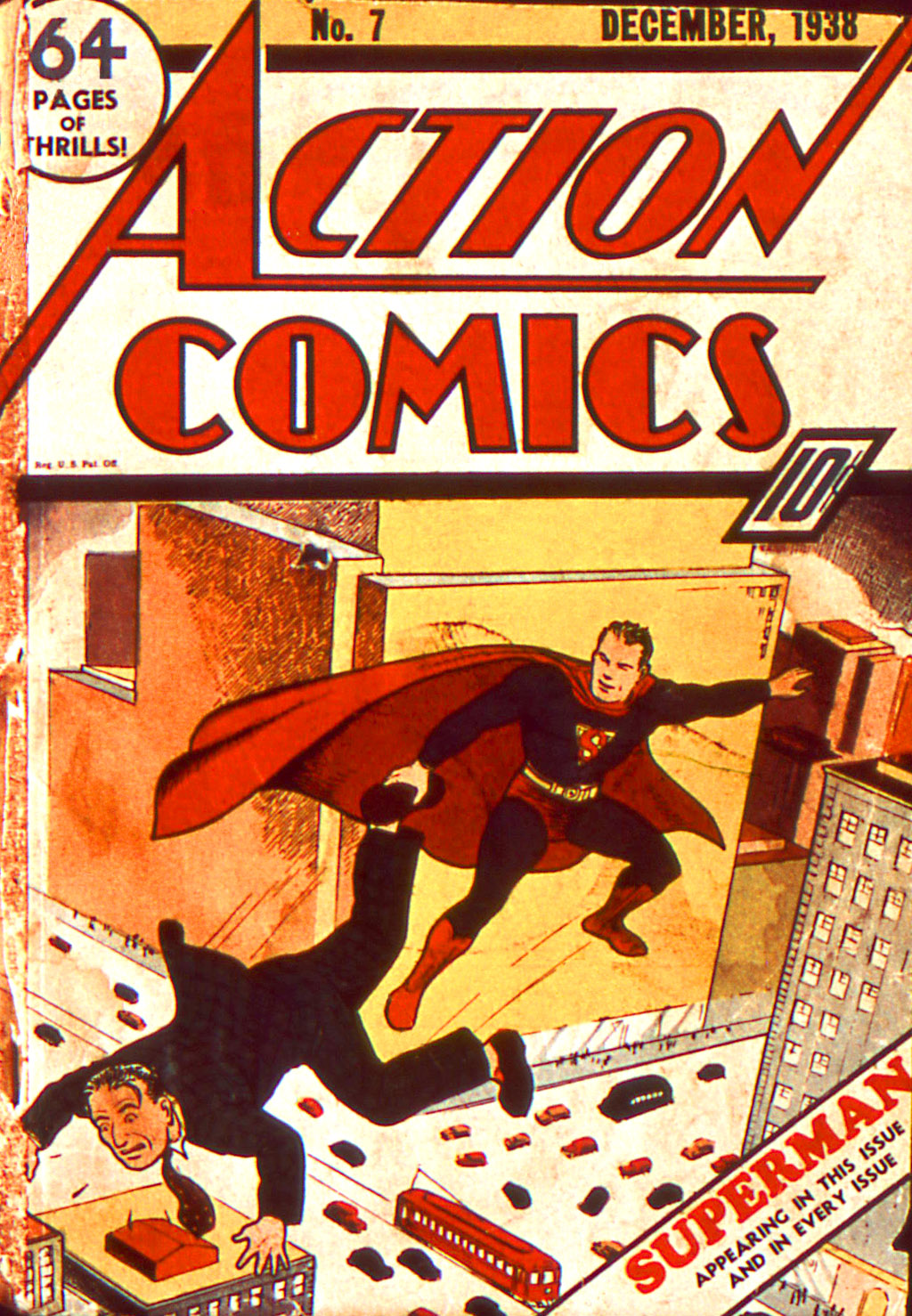 Read online Action Comics (1938) comic -  Issue #7 - 2