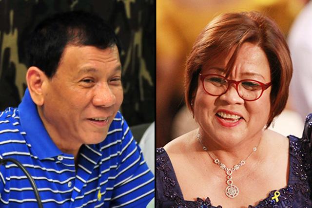 Duterte vs. De Lima war
