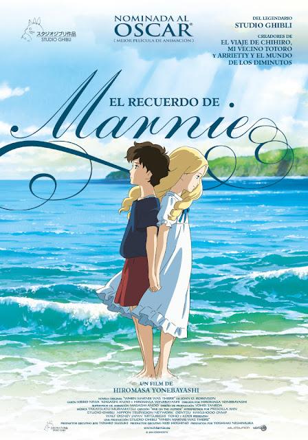 El Recuerdo de Marnie, película del estudio japonés de animación Studio Ghibli