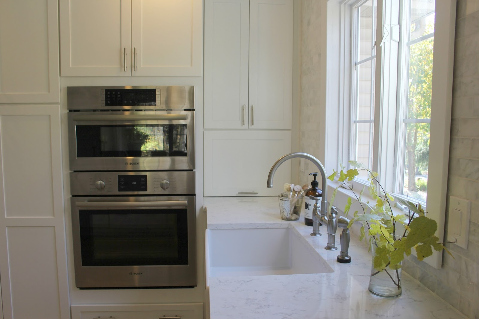 My White Modern Farmhouse Style Kitchen With Viatera Minuet Quartz  Countertops  Read More About ...