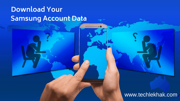 download Samsung account data