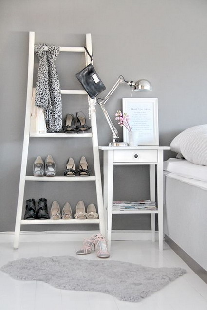 More ideas for decorating with ladders 7