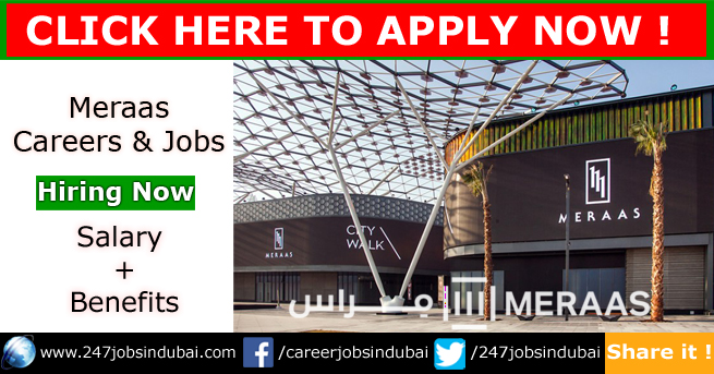 Staff Recruitment at Meraas Jobs and Careers