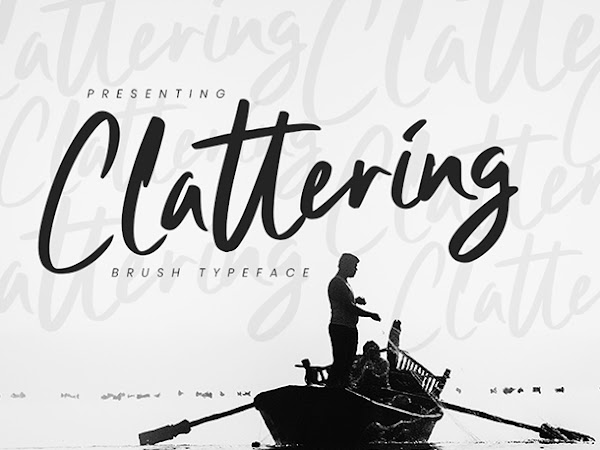 Clattering Handwritten Script Font Free Download
