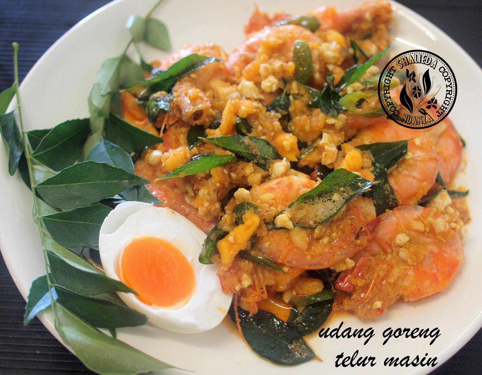 Resepi Udang Goreng Telur Masin Simple ~ Resep Masakan Khas