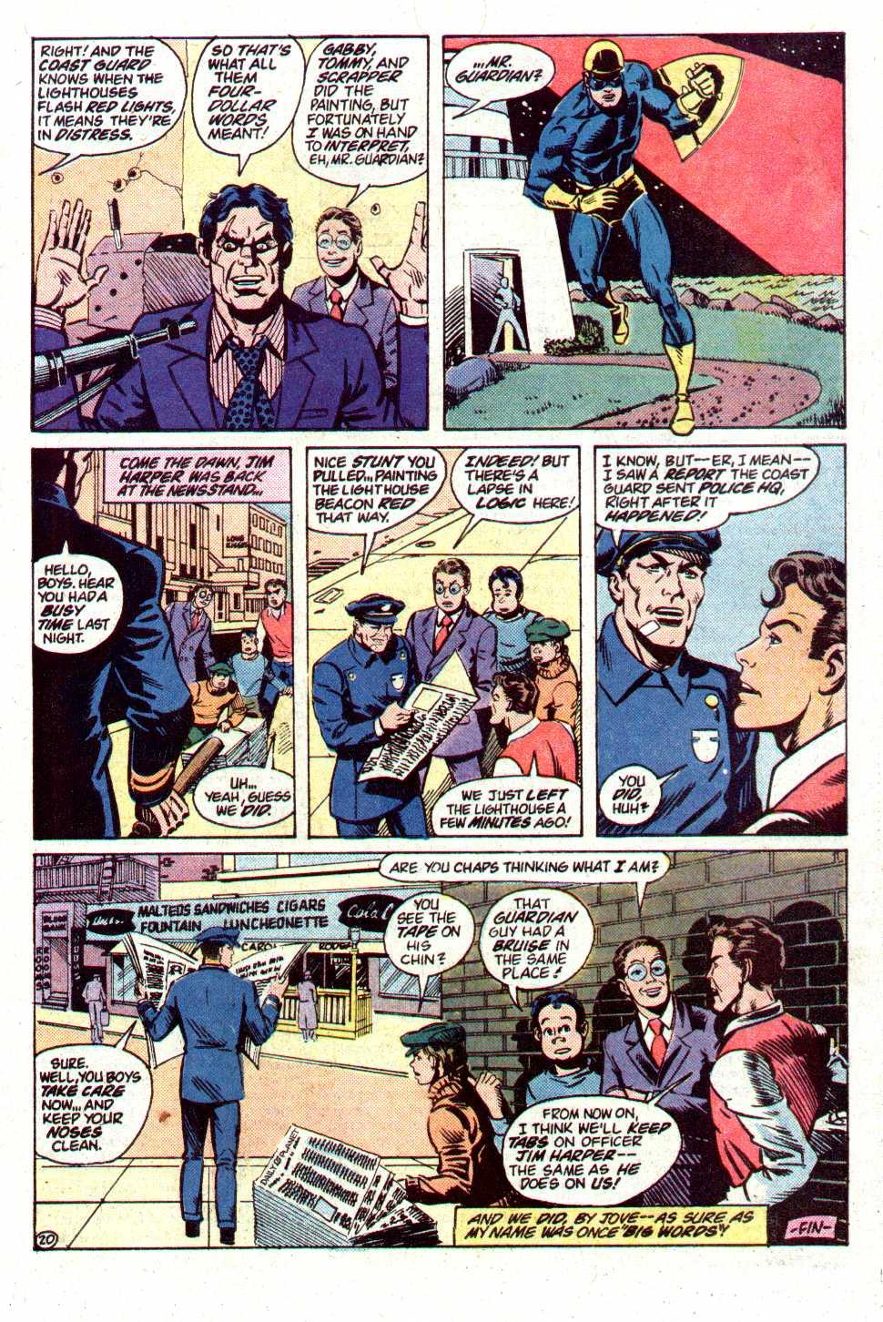Read online Secret Origins (1986) comic -  Issue #19 - 41