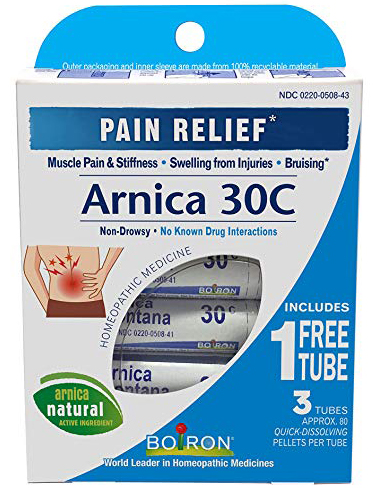 Arnica pain relief support from Boiron - stocking stuffers for adults that they will actually use