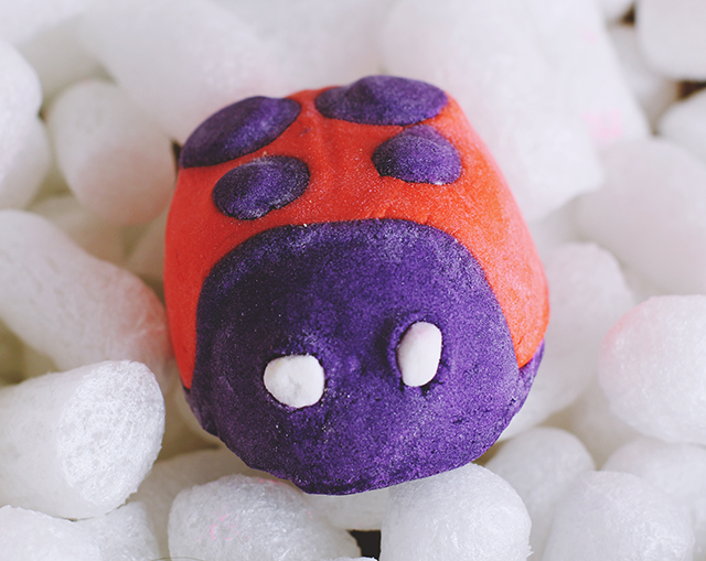 Lush Lady Bug Bubble bar Review