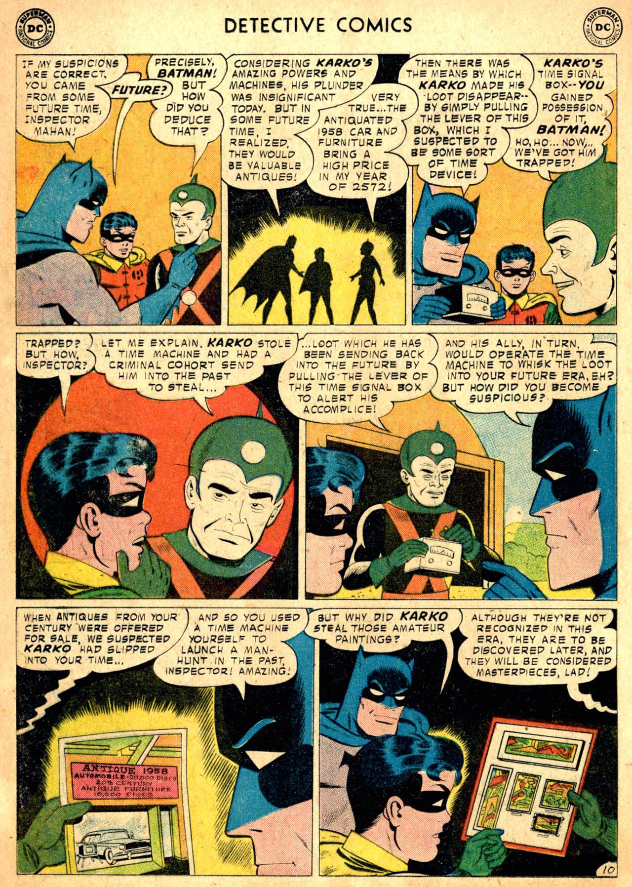 Read online Detective Comics (1937) comic -  Issue #257 - 12