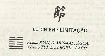 i Ching: devo continuar namorando com ela? Hexagrama 60
