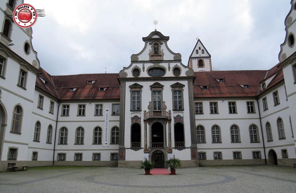 Füssen, Baviera (Monasterio de San Magnus)