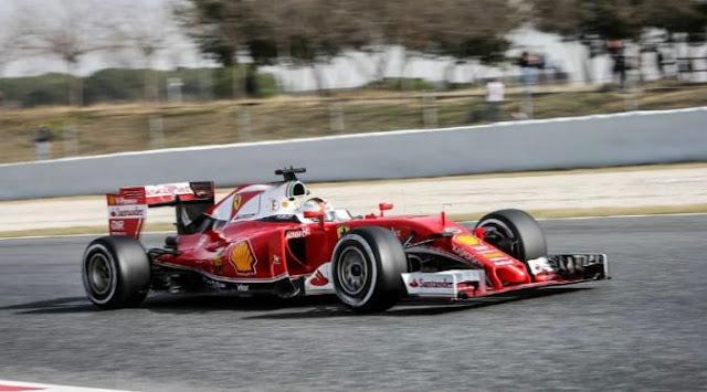 Hasil Pramusim F1: Vettel Tercepat Lagi, Wehrlein Kian Impresif