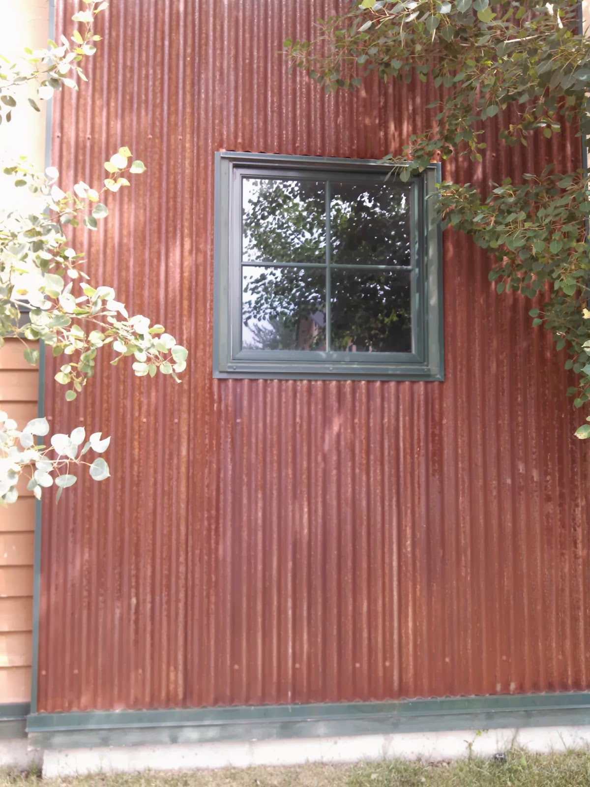 The Gentry Joint Project Corten Steel Siding