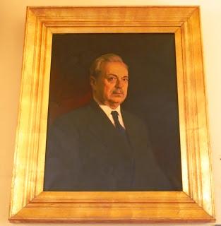 προσωπογραφία του Δημήτριου Χόνδρου στο Μουσείο του Πανεπιστημίου Αθηνών