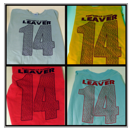SCREEN PRINT LEAVERS HOODIES