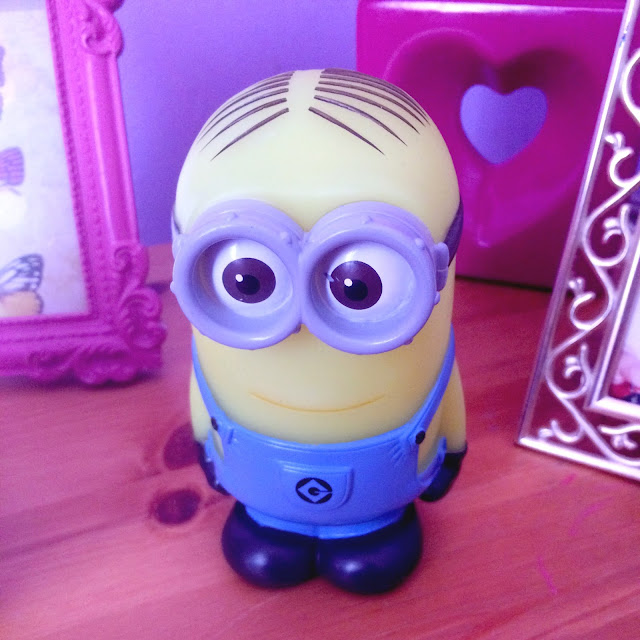 small minion shaped night light