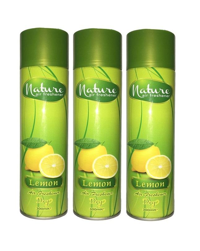 Pack Of 3 - Nature Lemon Ir Freshener 300 ml