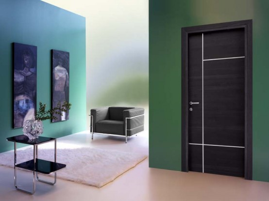 interior design: modern interior doors