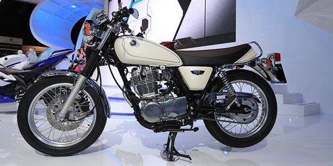 gambar motor klasik terbaru merk Yamaha SR400 2014