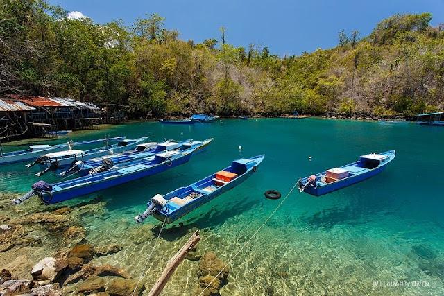 Pantai Sulamadaha Maluku Utara Surga Wisata Terbaik di Ternate