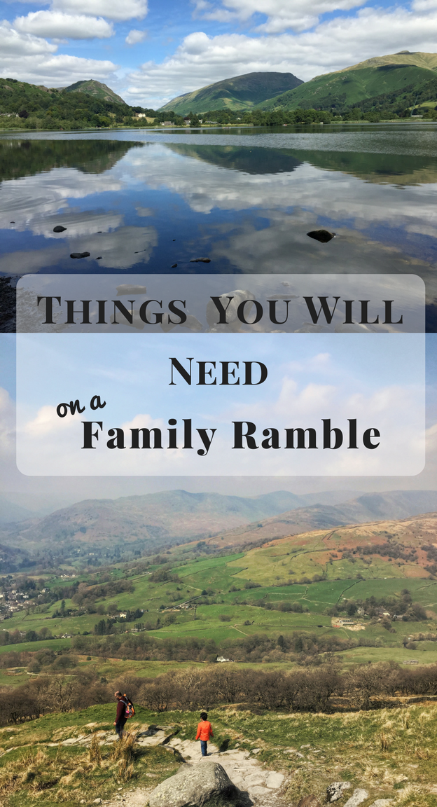 Things You Will Need on a Family Ramble