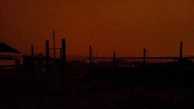 Heboh Langit Siberia Mendadak Gelap Berjam-jam di Siang Bolong