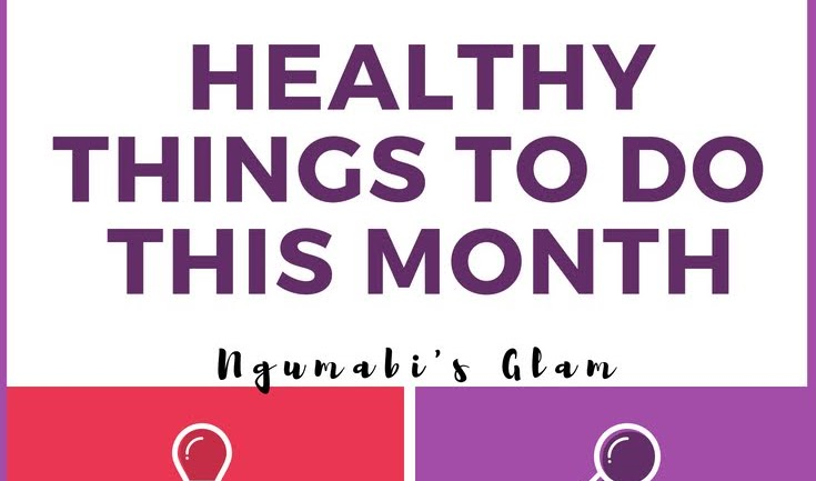 Healthy Things To Do This Month of July