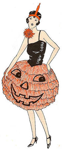 Vintage Halloween Illustrations on About.com