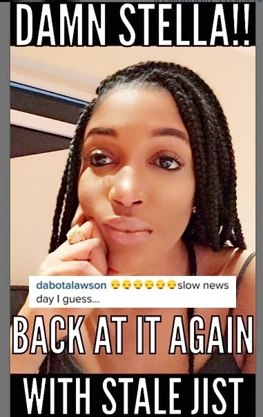 Another Day of Drama: Popular Blogger Calls Out Dabota Lawson for Bleaching and She Fires Back!