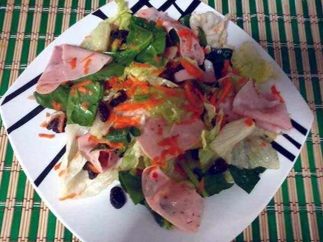 Receita de salada completa