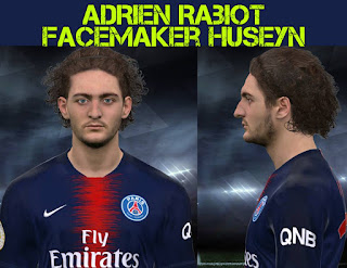 PES 2017 Faces Adrien Rabiot by Facemaker Huseyn