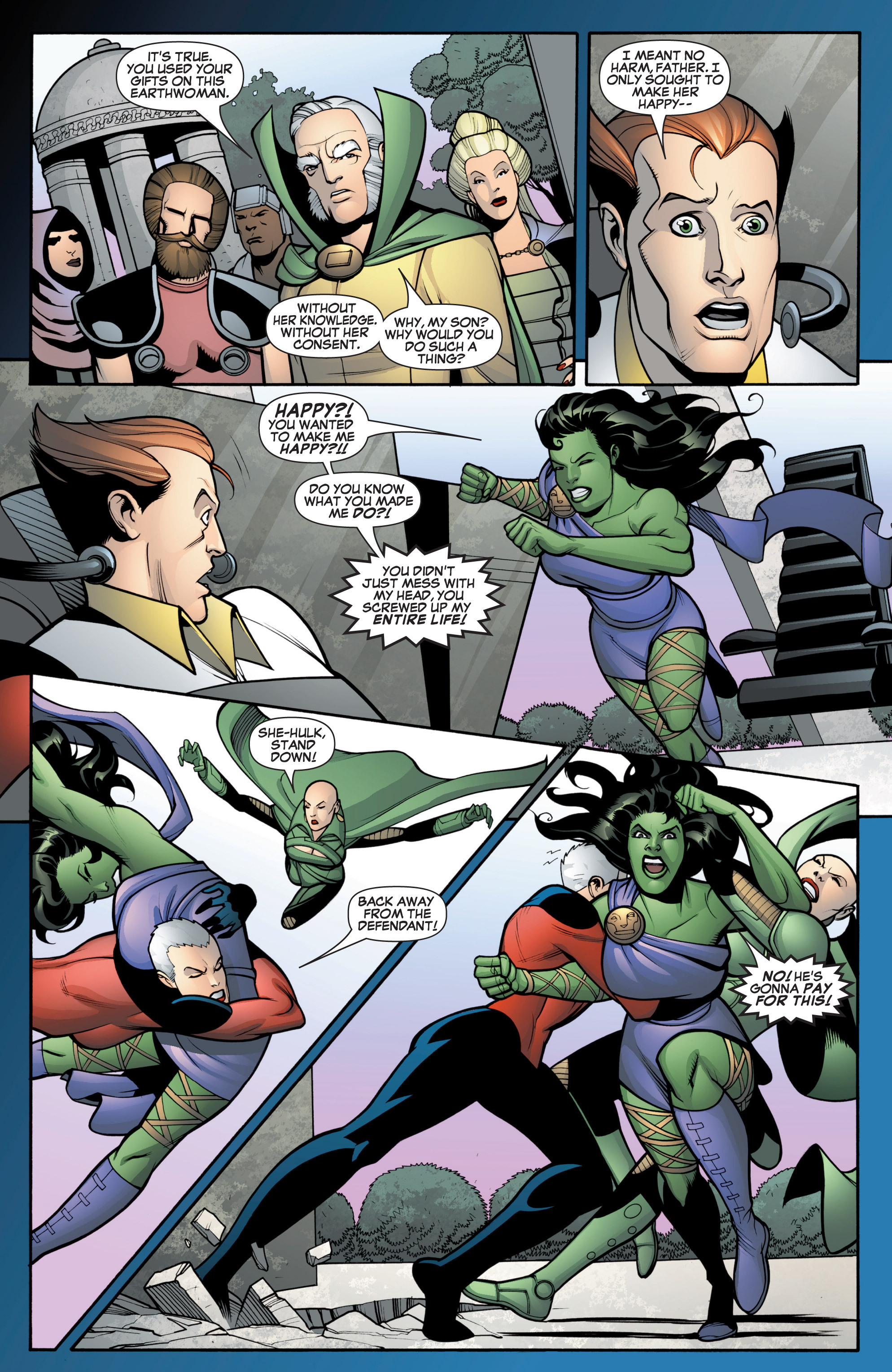 Read online She-Hulk (2005) comic -  Issue #12 - 17