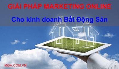 Giải pháp Marketing Online cho lĩnh vực Bất động sản