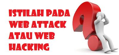Istilah pada Web Attack atau Web Hacking