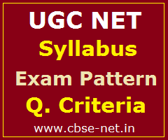 image : UGC NET Syllabus, Exam Pattern, Eligibility & Qualifying Criteria @ cbse-net.in