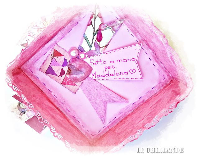 Explosion box rosa