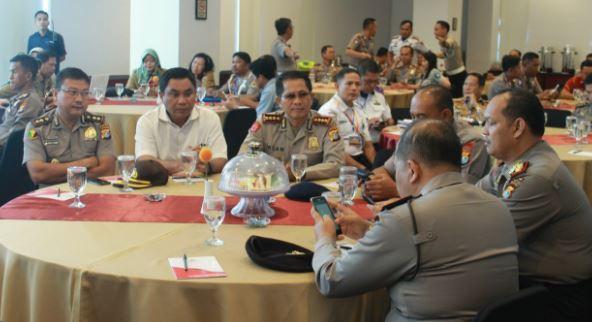 Foto Dirlantas Polda Sulbar Gelar Rakor Forum Lalulintas Dan Angkutan Jalan