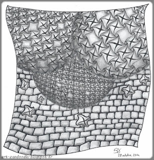 zendoodle, zentangle Fall