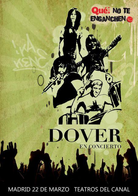 Concierto de Dover en Madrid. Ya están disponibles las entradas gratis