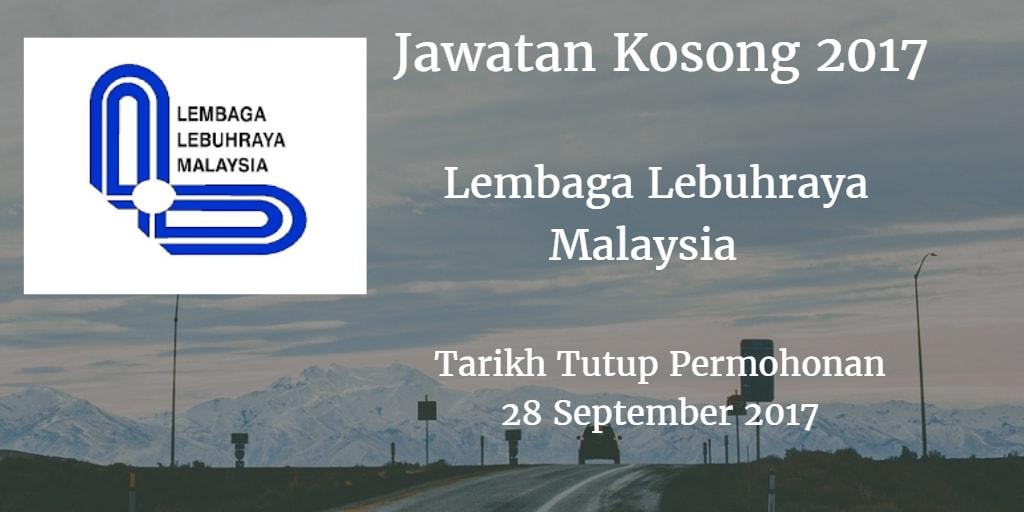 Jawatan Kosong LLM 28 September 2017