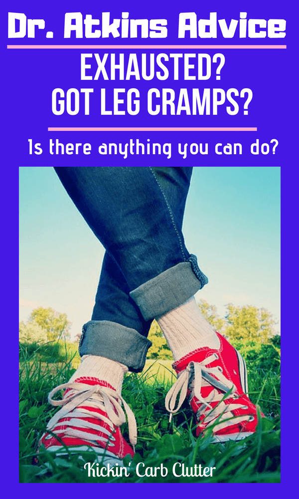 Pinterest Image: Is there anything you can do for leg cramps?