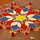Simple Rangoli Designs For Competition