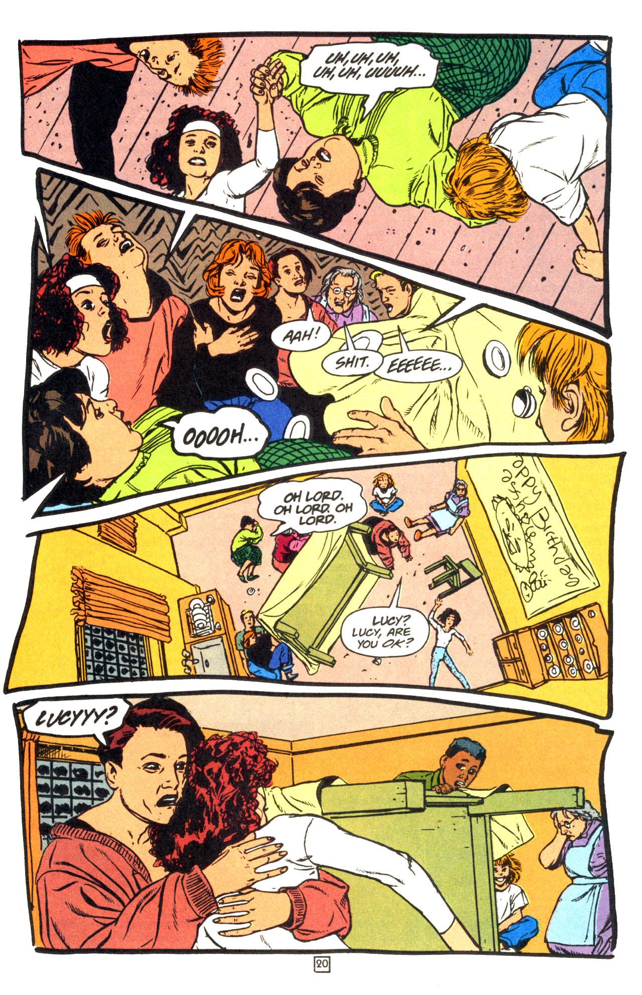 Read online Animal Man (1988) comic -  Issue #68 - 21