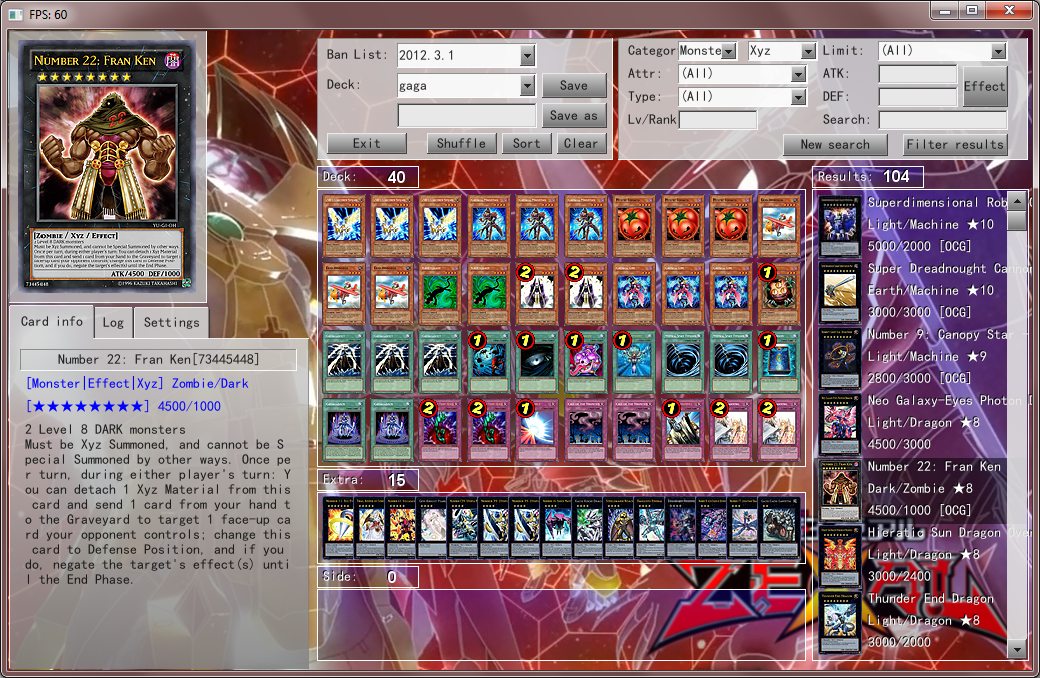 Percival18 Yu-Gi-Oh blog: YGOPro 1 02C 0 Percy