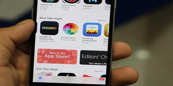 hapus aplikasi sampah dari app store iphone anda