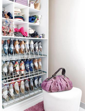 vestidor con armarios de Ikea